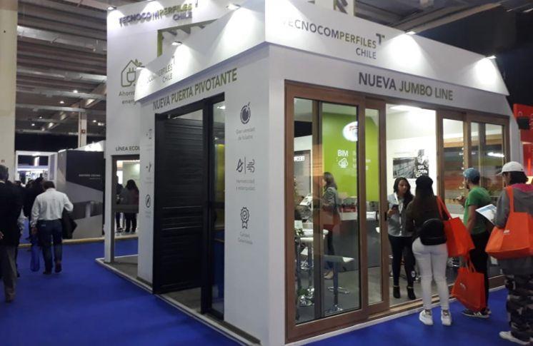 TECNOCOM PERFILES CHILE presenta sus productos en EDIFICA 2019